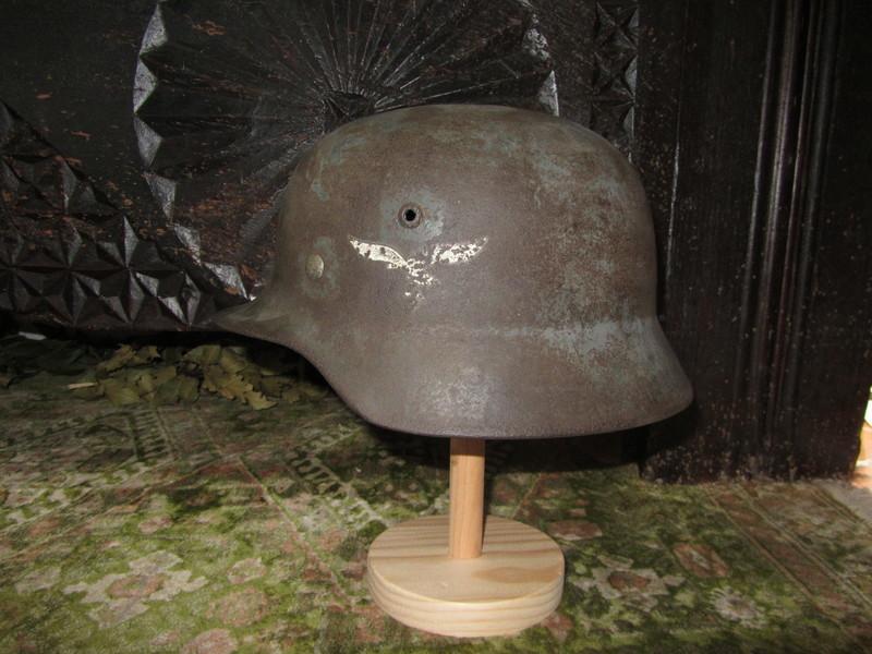 casco - vendo mi  casco aleman m35 doble calca luftwaffe IMG_1246