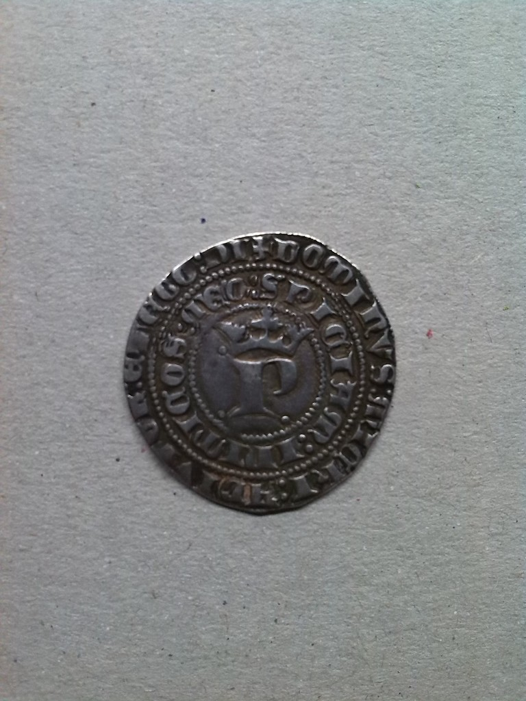 Real de Pedro I de Castilla 1350 - 1368 Sevilla. IMG_20150715_215954
