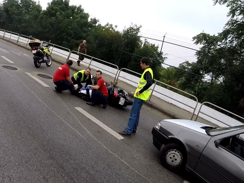 25-07-2014 - Calçada de Carriche - Scooter Untitled