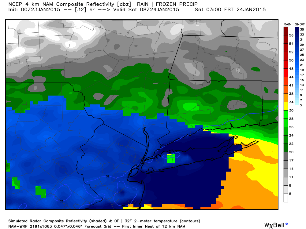 Update #3: Godzilla Caged, 1st Call Snow Map (1/24/15)  Hires_ref_nyc_33