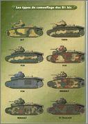 Камуфляж французских танков B1  и B1 bis 044