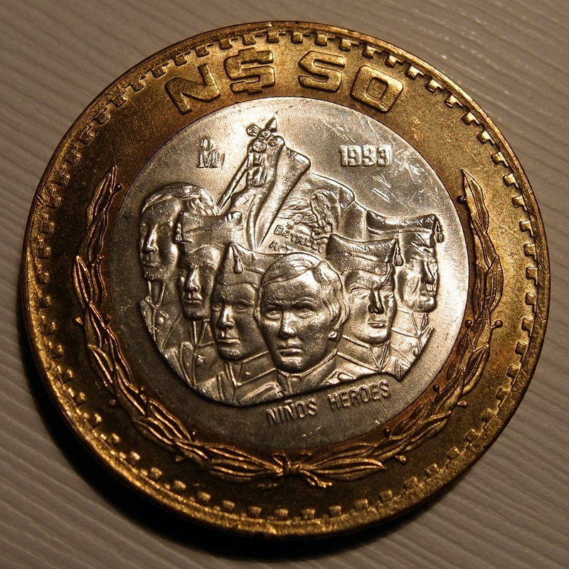 México, 50 pesos, 1993. ¡BESTIAL! P2061466
