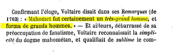 Voltaire et Islam Image