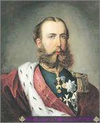 5 Dracmas 1876 Jorge I de Grecia Maximiliano_de_mejico