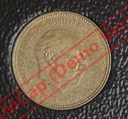 2,50 pesetas 1953 (*19-71). Estado Español. DEDIT LOBO Image