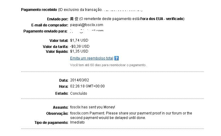 [PROVADO] fosclix - Paid-to-Click + offers Fosclix_payment