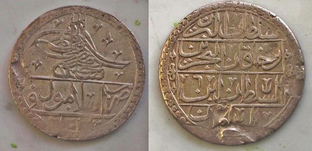 Yuzluk (2 1/2 Piastras) de Selim III. 1794. Estambul. (Caminoalto dedit) 0_0_0_selim_iii