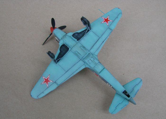Do Božića, Yak-3, Zvezda, 1/72 - Page 2 DSC03013