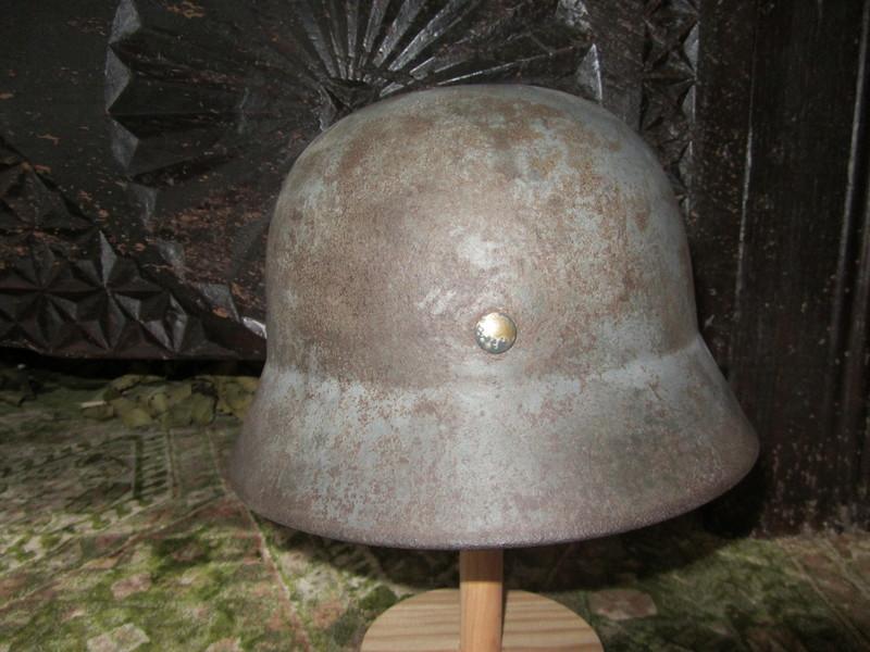 casco - vendo mi  casco aleman m35 doble calca luftwaffe IMG_1249