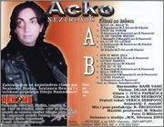 Acko Nezirovic  - Diskografija 2002_pz