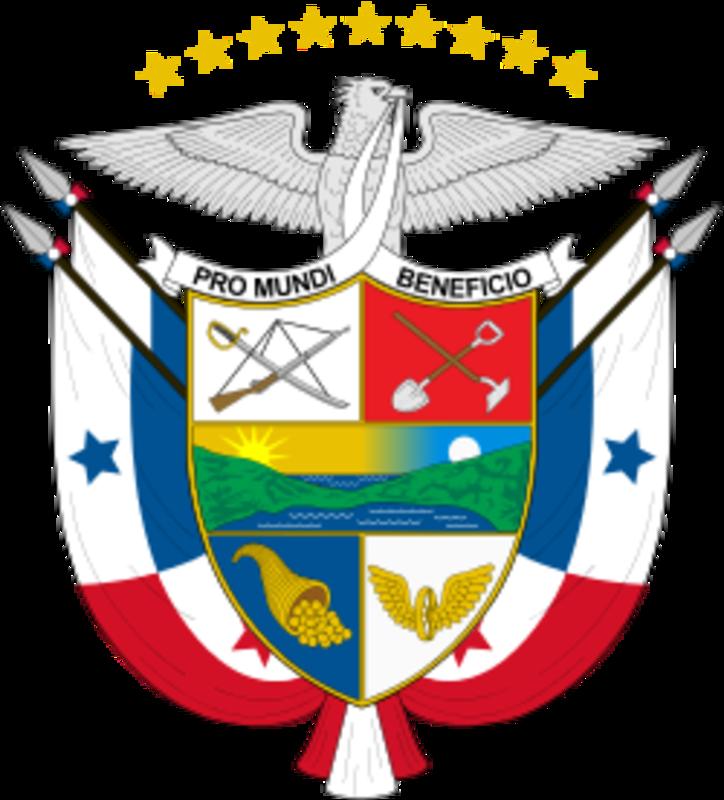 MONEDA DE 1/4 DE BALBOA - PANAMA 1993 ESCUDO_DE_ARMAS_DE_PANAMA