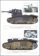 Камуфляж французских танков B1  и B1 bis 054