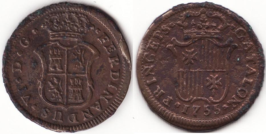 Monedas catalanas. 1115