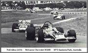 Tasman series from 1971 Formula 5000  71sand26