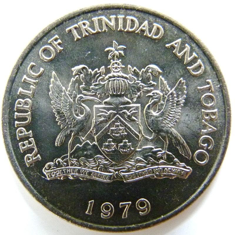 1 Dólar. Trinidad y Tobago (1979) TYT_1_D_lar_FAO_anv