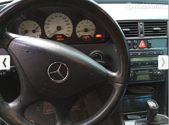 S202 C230 Touring Kompressor1999 R$ 28.000,00 Screenshot_437