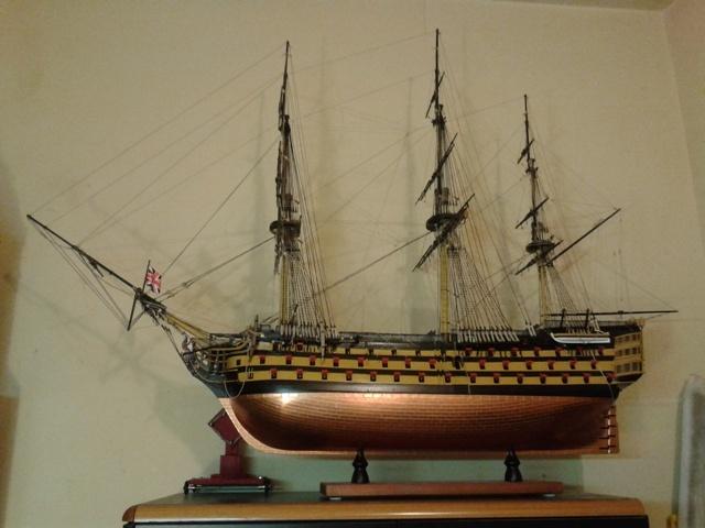 royal - I miei lavori terminati: Corazzata Bismarck, Soleil Royal, Victory. 20140508_163621