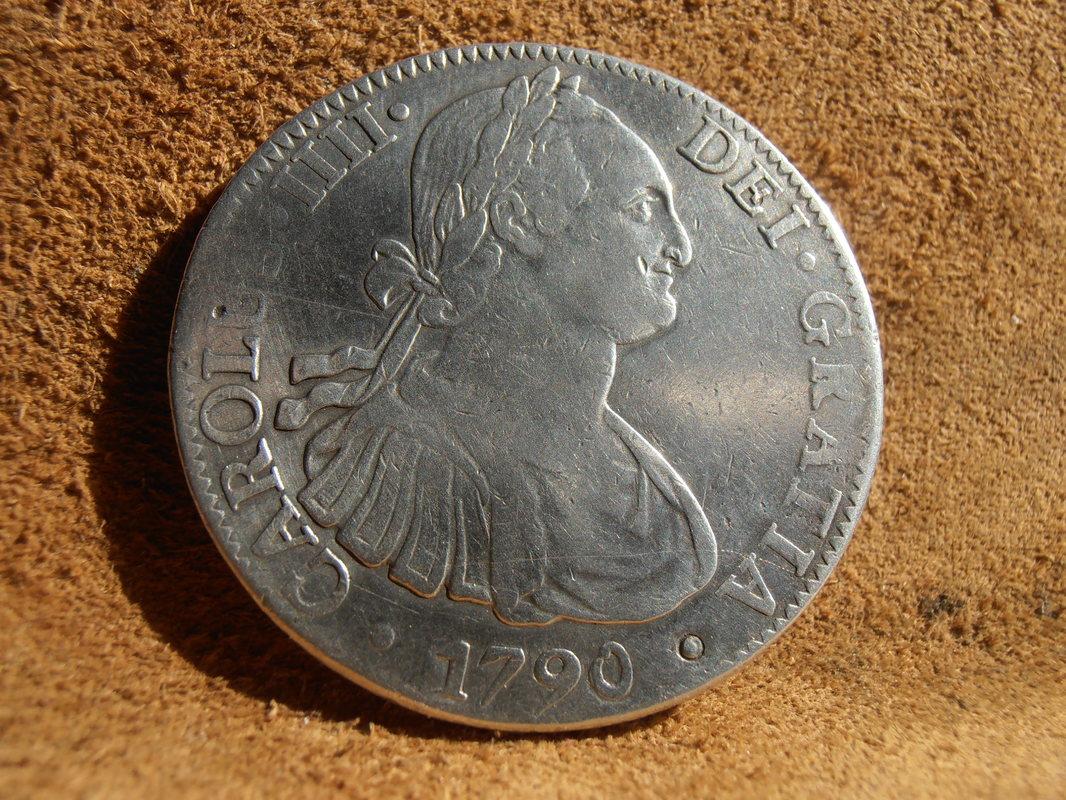 8 Reales 1790 Méjico Busto de Carlos IV P4100001