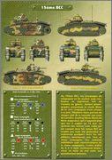 Камуфляж французских танков B1  и B1 bis 047