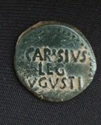 As de Emérita Augusta, época de Augusto. P CARISIVS - LEG - AVGVSTI . IMG_20170524_202816