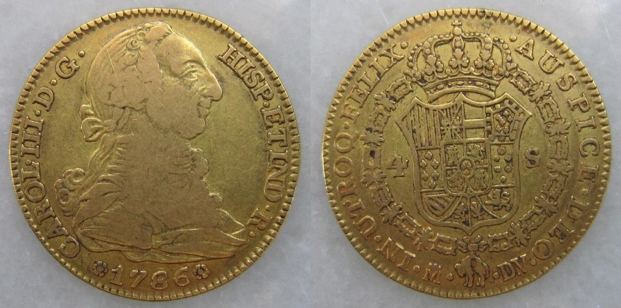 4 escudos Carlos III. Madrid 1786 4_escudos_Madrid_1786_Carlos_III