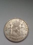 5 pesetas 1881 *18-81* Alfonso XII 20170118_100625_1