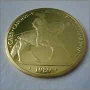 100 Ecu 1989 ,CARLOS V EN LA BATALLA DE MÜHLBERG  Image