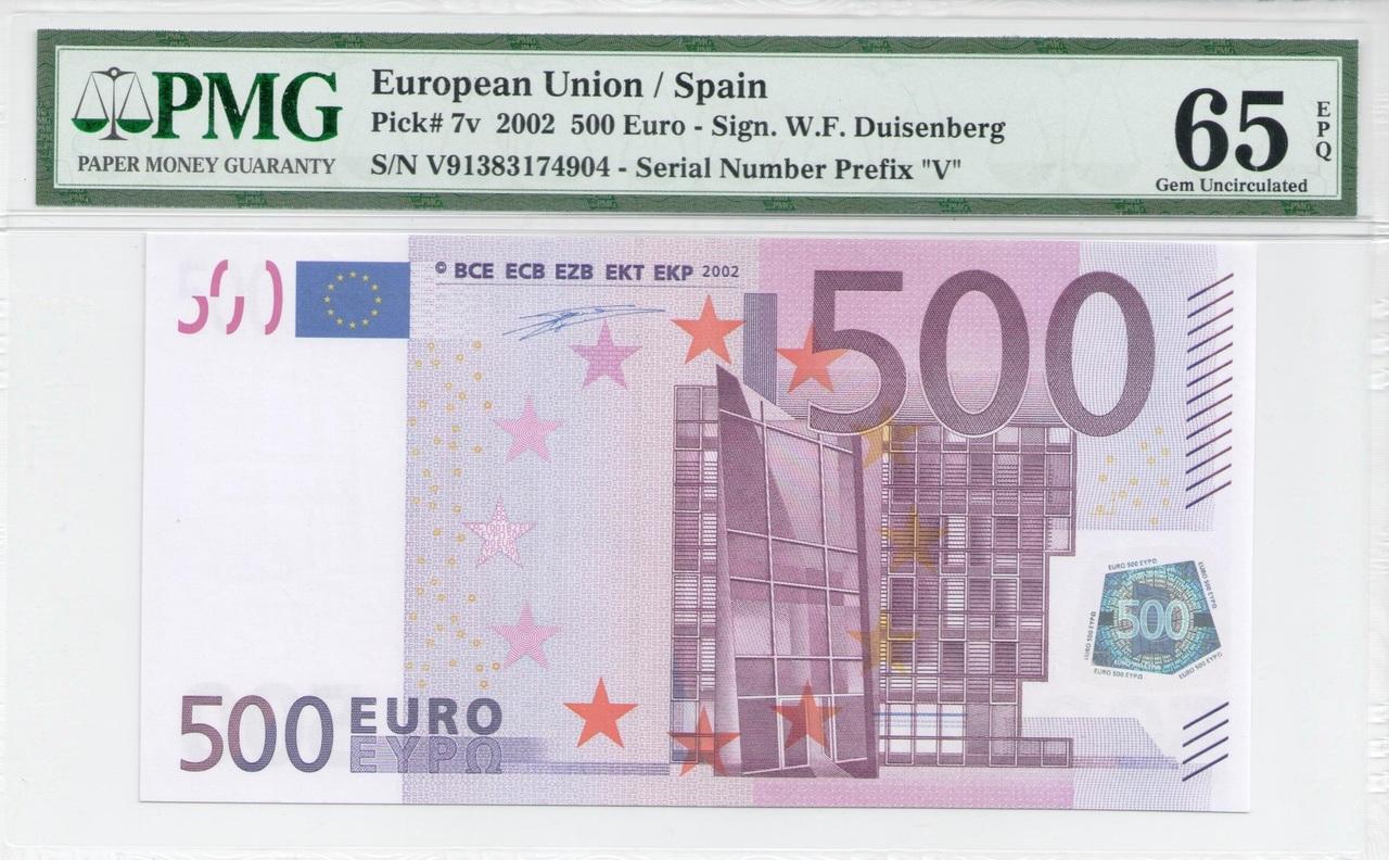 Colección de billetes españoles, sin serie o serie A de Sefcor - Página 3 500_euros_anverso