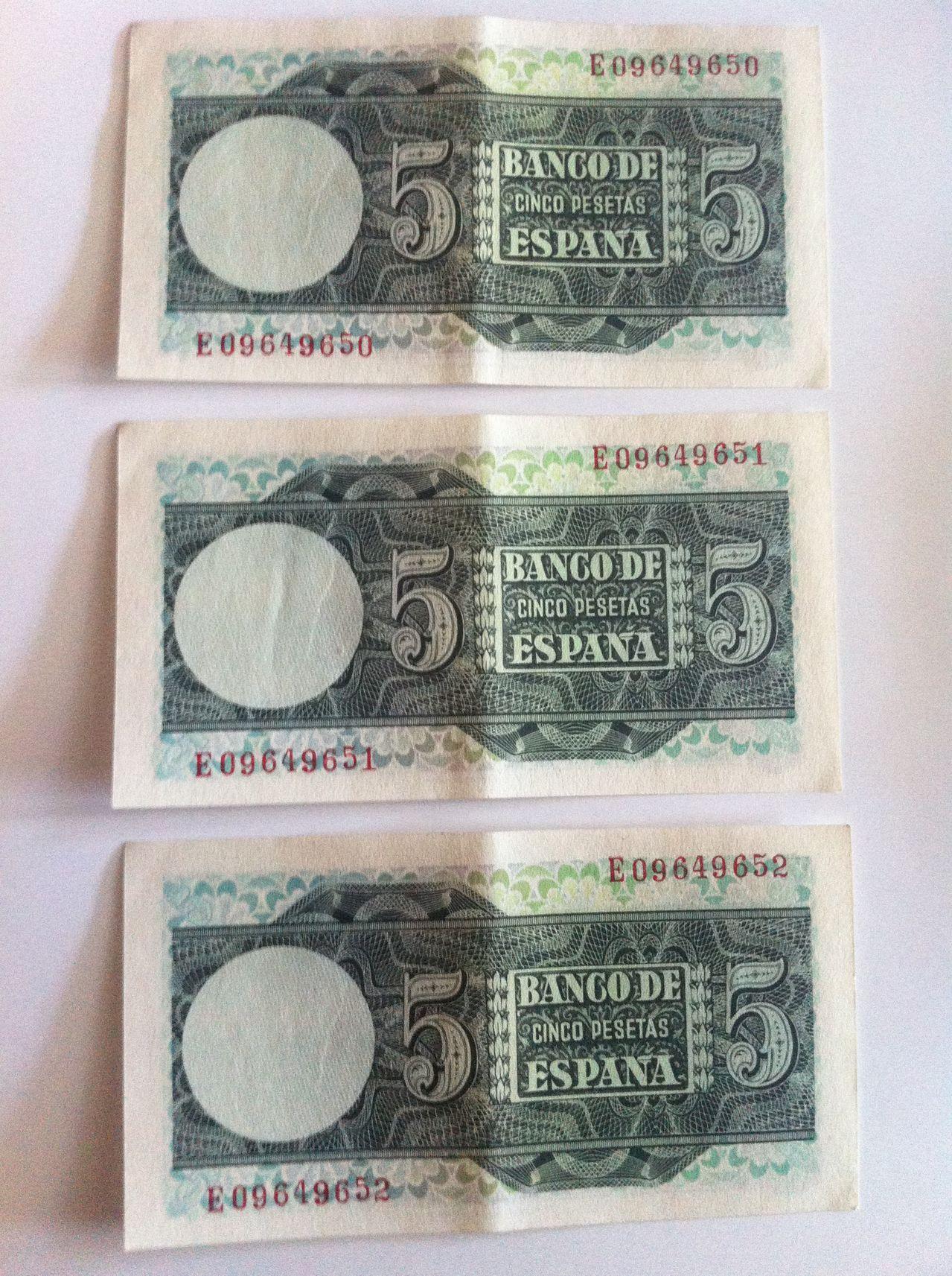 Ayuda valoracion cinco pesetas 1948  IMG_4984