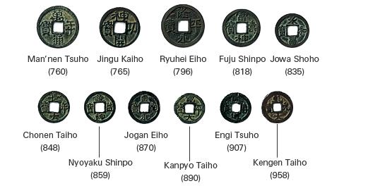Wado-Kaichin. Año 708. La primera moneda oficial Japonesa de la Historia.  Despues_del_wado_kaichin