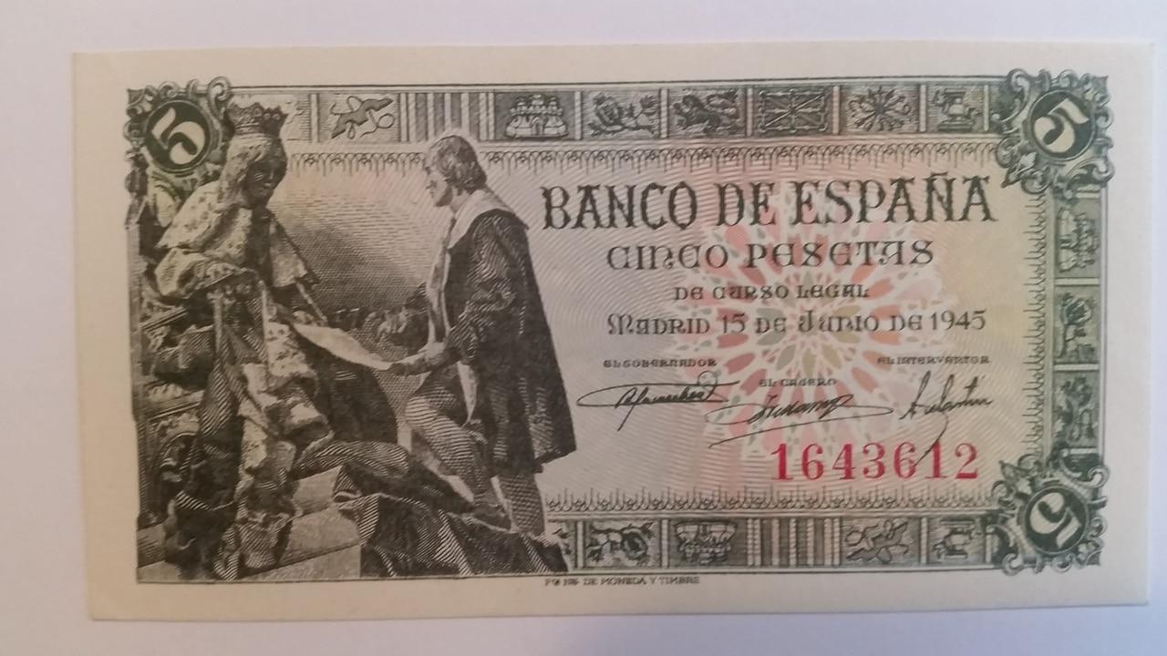 Colección de billetes españoles, sin serie o serie A de Sefcor pendientes de graduar 20161217_115448