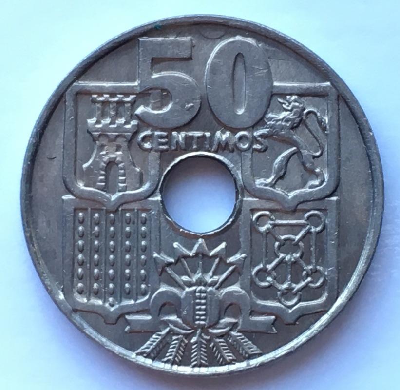 50 céntimos 1963 (*19-63). Estado Español. Variante dedit Estrella76 IMG_8895