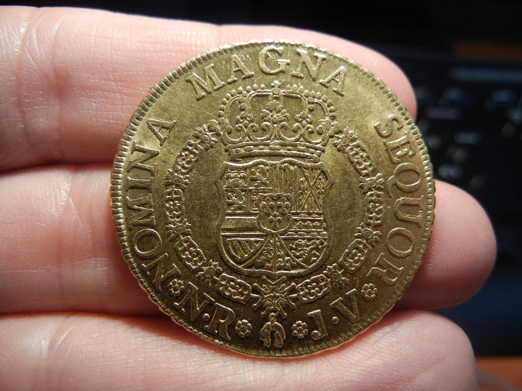 8 escudos 1760. Nuevo Reino. Carlos III. Busto de Fernando VI 8_escudos_nuevo_reino_reverso