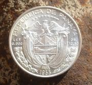 1/2 Balboa, Cincuentenario. Panama 1953 DSC02255222222222222222