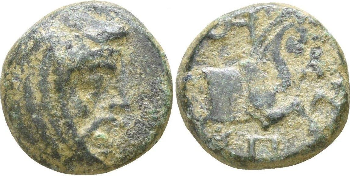 Æ 10 Espitrídates. Satrapa de Sparda (Lidia y Jonia).  ca 334 a.C. 236