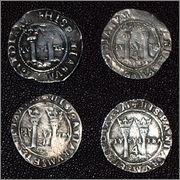 4 reales Carlos y Juana, México. P9011781