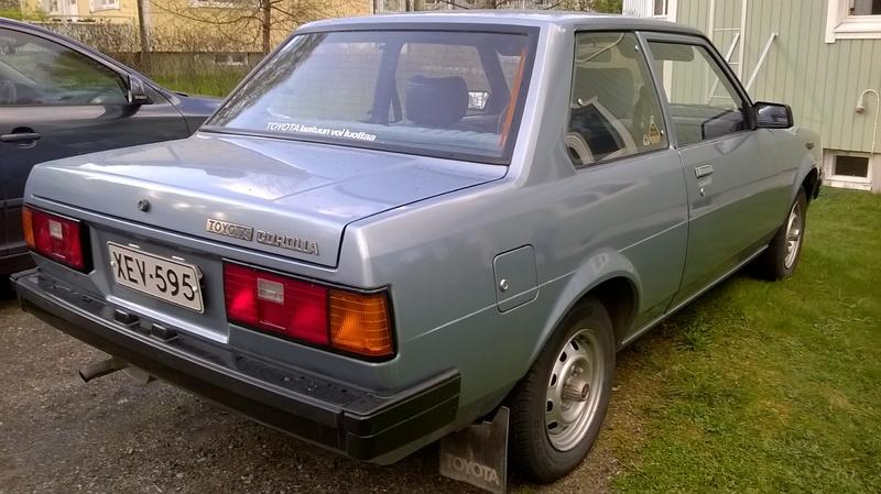 Corolla KE70 Super 1982 WP_20150520_009