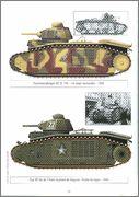 Камуфляж французских танков B1  и B1 bis 056