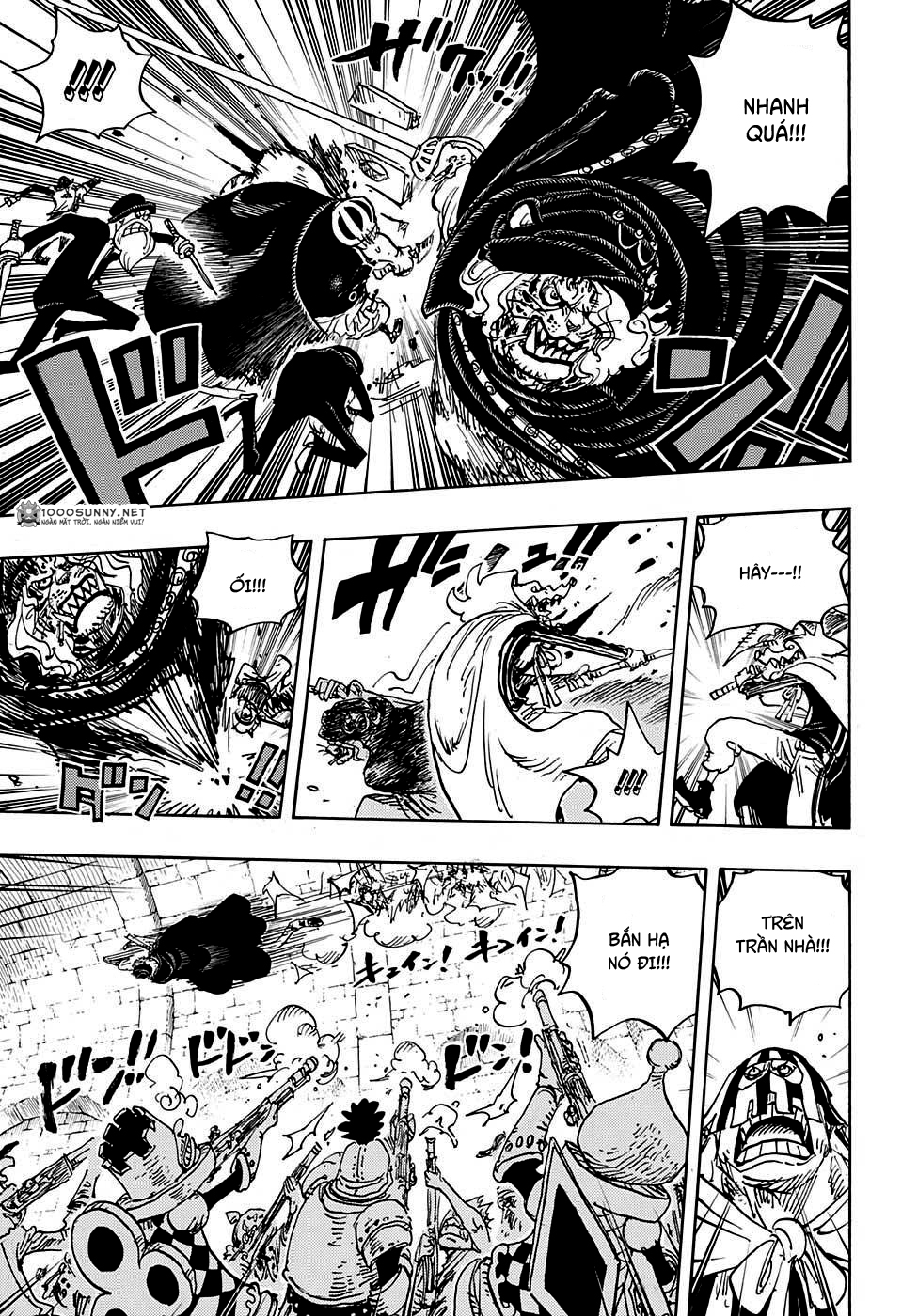 One Piece Chapter 848: Tạm biệt 012