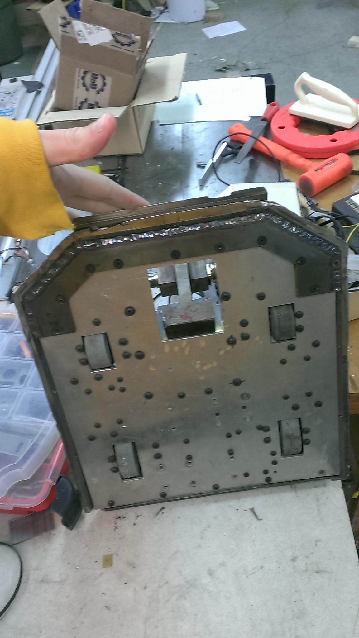 New 15 pound beater bot IMAG3307