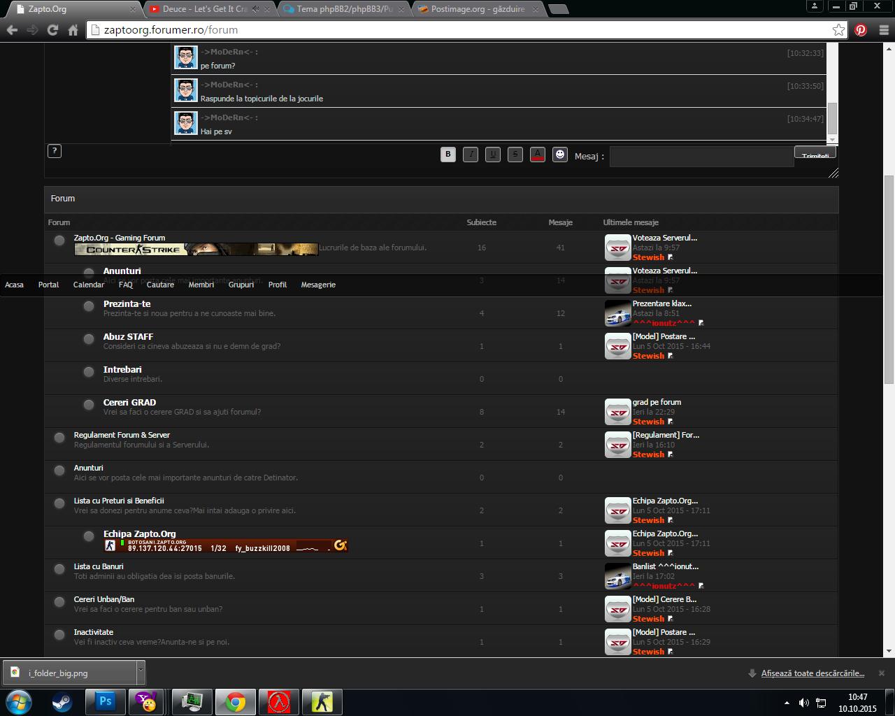 Tema phpBB2/phpBB3/PunBB/Invision Screenshot_52