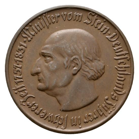 Monedas de emergencia emitidas por el banco regional de Westphalia 1921_10a