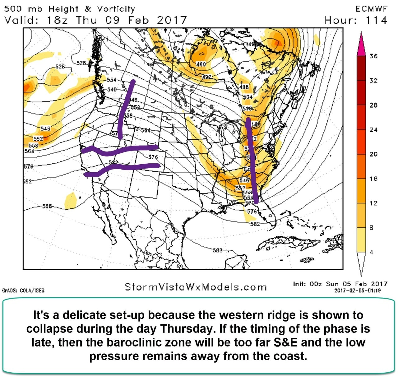 Possible Snowstorm Thursday, February 9th EURO_2