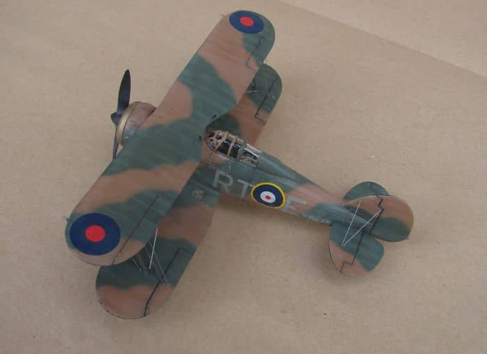 Gloster Gladiator Mk.I, Matchbox/Revell, 1/72 DSC03047