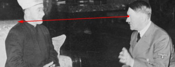Hitler/al-Husseini :Truquée ou pas truqée Image