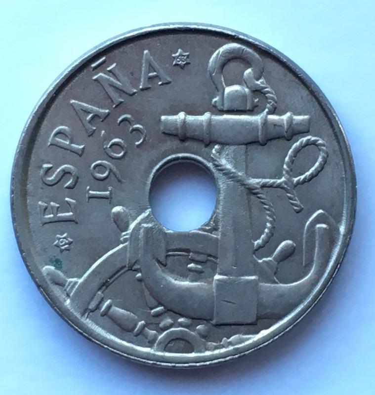 50 céntimos 1963 (*19-63). Estado Español. Variante dedit Estrella76 IMG_8892