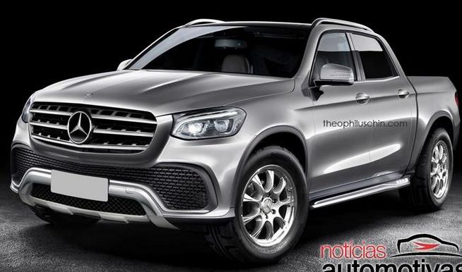 Mercedes confirma Pickup rival da Hilux e Amarok Olavete