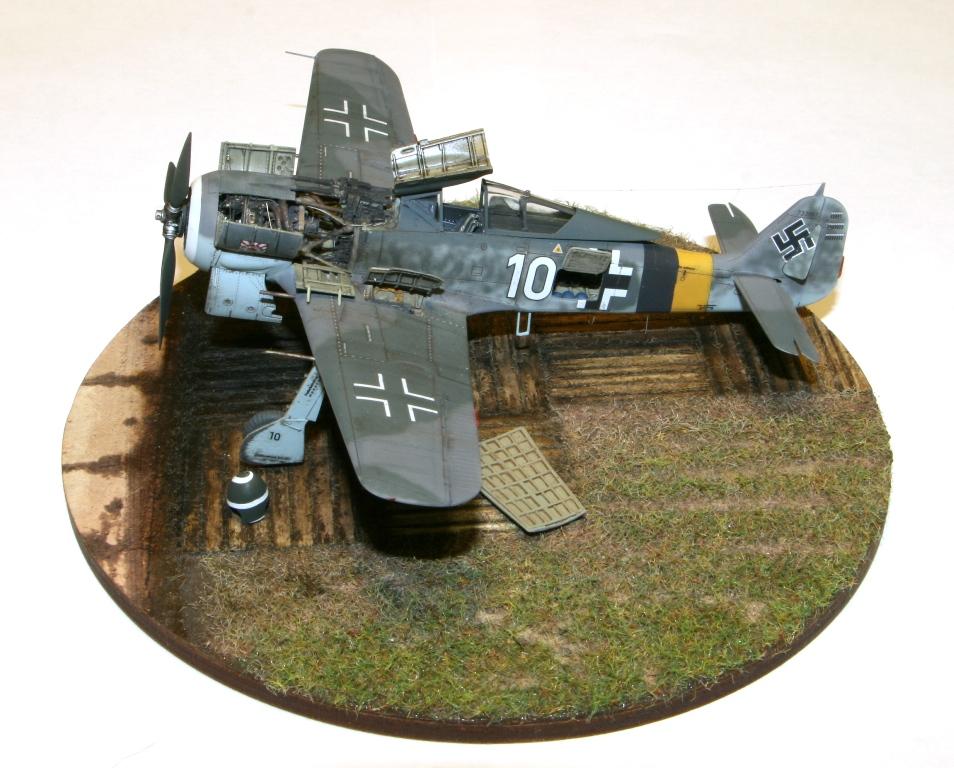 Focke Wulf Fw190A-8 Eduard 1/72 IMG_5165
