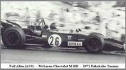 Tasman series from 1971 Formula 5000  71puk26