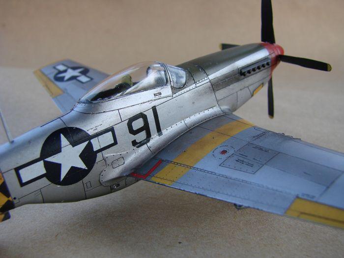 Mustang x2 P-51B Revell & P-51D Tamiya, 1/72 DSC09784